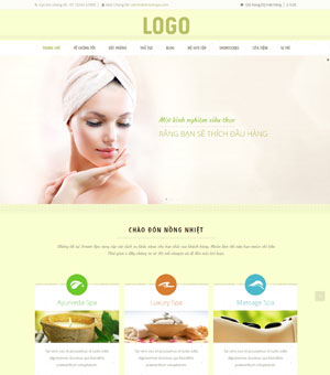 mẫu website spa 04