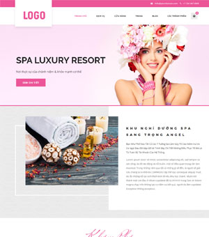 mẫu website spa 05