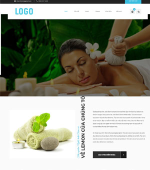 mẫu website spa 07
