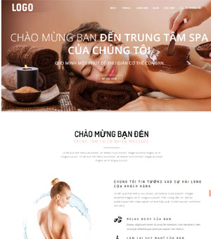 mẫu website spa 09